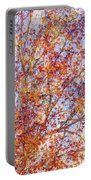 Liquidambar Square Abstract Portable Battery Charger