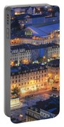 Lisbon At Night Portugal Portable Battery Charger