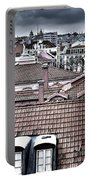 Lisbon Rooftops I Portable Battery Charger by Marco Oliveira