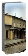 Lithuania. Silute Train Station. 2008 Portable Battery Charger