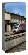Lithuania. Silute Train Station. 2009 Portable Battery Charger