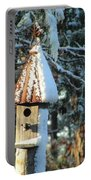 Little Birdhouse In The Woods Portable Battery Charger