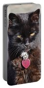 Little Black Kitty Portable Battery Charger