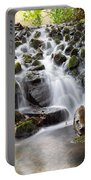 Little Cascade In Marlay Park Dublin Portable Battery Charger