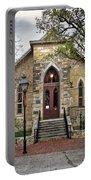 Little Church At La Villita  Portable Battery Charger