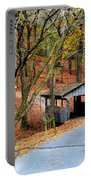 Little Covered Bridge Portable Battery Charger