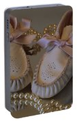 Little Girls To Pearls Portable Battery Charger