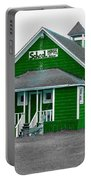 Little Green School House Portable Battery Charger