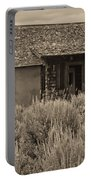 Little House In The Sage Bw Portable Battery Charger