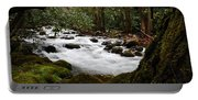 Little Pigeon River In The Smokies Portable Battery Charger