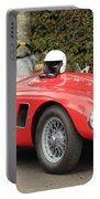 Little Red Ac Bristol Racer Portable Battery Charger