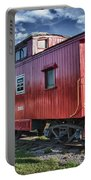 Little Red Caboose Portable Battery Charger