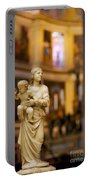 Little Statue Portable Battery Charger by Brian Jannsen