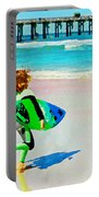 Little Surfer Dude Portable Battery Charger