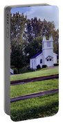 Little Village Chapel Of The Immanuel Lutheran Church Portable Battery Charger