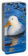 Little White Duck Portable Battery Charger
