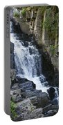 Little Wilson Falls Maine Portable Battery Charger