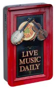 Live Music Daily Portable Battery Charger