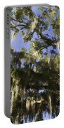 Live Oak Dripping With Spanish Moss Portable Battery Charger