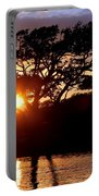 Live Oak Silhouette Portable Battery Charger