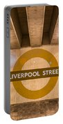 Liverpool Street Underground Portable Battery Charger