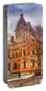 Livingston County War Memorial 02 Photo Art Portable Battery Charger