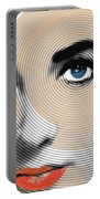 Liz Taylor Portable Battery Charger