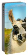 Llama Portrait Portable Battery Charger