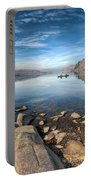 Llanberis Lake Portable Battery Charger by Adrian Evans