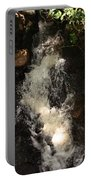 Llangollen And Maelor Country Waterfalls Portable Battery Charger