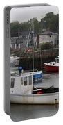 Lobster Fleet Rockport Harbor Portable Battery Charger