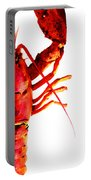 Lobster - The Right Side Portable Battery Charger by Sharon Cummings