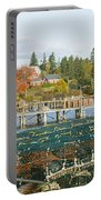 Lobster Village In Autumn, Southwest Portable Battery Charger