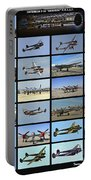 Lockheed P-38 Poster Portable Battery Charger