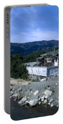 Log Cabin In Carcross Portable Battery Charger
