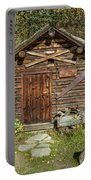 Log Cabin Kantishna, Alaska, Mnt Portable Battery Charger