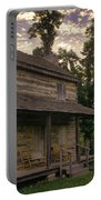 Log House Dusk Portable Battery Charger