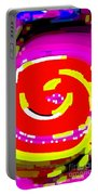 Lol Happy Iphone Case Covers For Your Cell And Mobile Devices Carole Spandau Designs Cbs Art 148 Portable Battery Charger by Carole Spandau