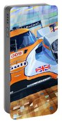 Lola Aston Martin Lmp1 Racing Le Mans Series 2009 Portable Battery Charger