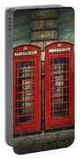 London Calling Portable Battery Charger by Evelina Kremsdorf