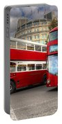 London Double Decker Buses Portable Battery Charger
