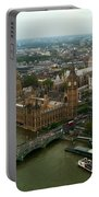 London England From The London Eye Portable Battery Charger