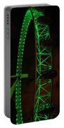 London Eye At Night Portable Battery Charger