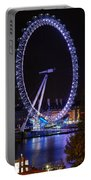 London Eye By Night Portable Battery Charger