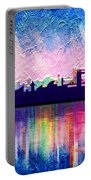 London In Blue  Portable Battery Charger