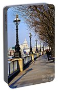 London View From South Bank Portable Battery Charger
