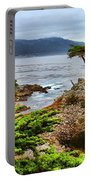 Lone Cypress By Diana Sainz Portable Battery Charger