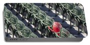 Lone Red Number 21 Fenway Park Portable Battery Charger
