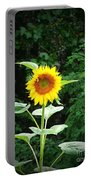 Lone Sunflower Portable Battery Charger