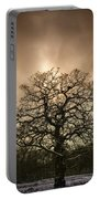 Lone Tree Portable Battery Charger by Amanda Elwell